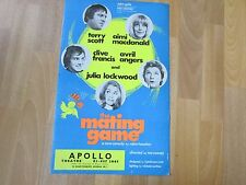 Terry SCOTT & Aimi MACDONALD in the MATING Game Original APOLLO Theatre Poster