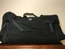 Vintage Travel Gear Black Eagle Creek Nylon Duffel Luggage Shoulder Bag VGUC