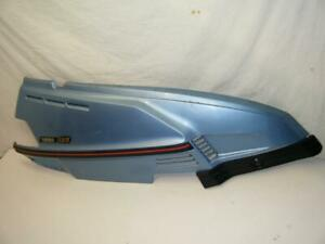 Right Rear Fender Side Panel Plastic Cover w Trim 83 84 Yamaha Riva XC180 XC 180