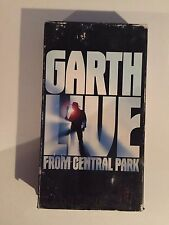 garth brooks, from central park, vhs, music  1997