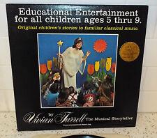 Vivian Farrell The Musical Storyteller LP VF-100 1978 Robert Falk on Piano
