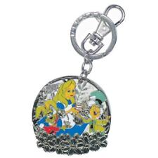 Alice in Wonderland Mad Tea Party Pewter Key Ring Key Chain