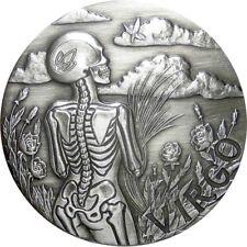 2015 1 oz Virgo Silver Coin | Memento Mori Zodiac Series | SkullCoins