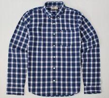 New Hollister Men's Casual Checks Shirt Size L