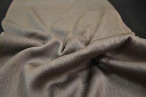 Japanese Silk Fabric grey silver with wavy imprint design 1432