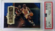 1998 SPx Finite Radiance Star Power Michael Jordan #100, #'d /2700, PSA 8, pop 7