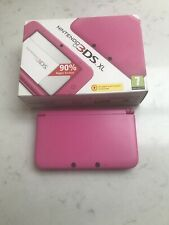 nintendo 3ds xl console pink