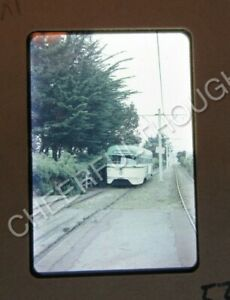 Original '50s Anscochrome Slide San Francisco Muni 1109 PCC Trolley action 16S54