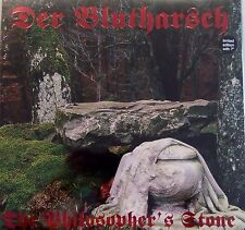 """DER BLUTHARSCH The Philosopher's Stone LP RED VINYL+7"""" 2007 LTD.451"""