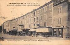 CPA 26 MONTELIMAR BOULEVARD DE LA SALLE VERTE STATION DES AUTOBUS