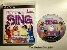 PS3 - Everyone Sing (Makers Of Sing Star) 35 Hit Tracks - Official UK Stock