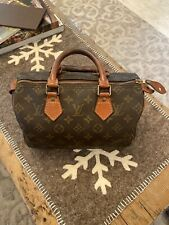 Authentic Vintage LOUIS VUITTON Speedy 25 Bag Monogram US SELLER