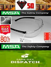 3 X MSA Nullarbor Safety Glasses | Clear | Australia's NUMBER 1 safety spectacle