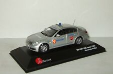 limousine Infiniti G37 2007 russian Militia Police Moscow J-Collection 1:43