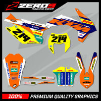 KTM EXC/EXC-F 125-450 2008 - 2019 MOTOCROSS GRAPHICS MX GRAPHICS KIT DHL ENDURO