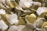 Wedding Throwing Confetti.Hearts,etc.,Pink,White,Silver,Ivory,Gold,Biodegradable