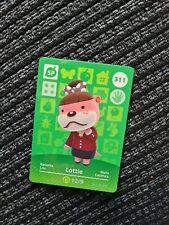 311 Lottie official Nintendo Switch Animal Crossing amiibo card ACNH
