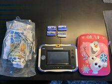 vtech innotab 3s With 3 Games Frozen Case Xmas Present Genuine Bundle Kids Peppa