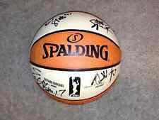 New York Liberty 2015 WNBA Team Autographed WNBA Ball  COA