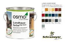 Osmo Landhausfarbe hochdeckende Holzfarbe in allen Farben ab 26,36 €/L
