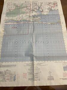 1970s Map Fort Walton Beach Florida Eglin Afb Army Map Service