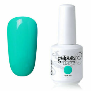 Elite99 Color Gel Nail Polish Nail Lacquer Manicure Top Base Coat Soak Off 15ML