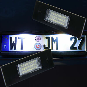 LED License Plate Light For BMW 1er E81,E87,F20,F21 + i3 IO1 [7102]