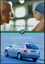 cartolina pubblicitaria PROMOCARD n.3008 SKODA FABIA AUTOMOBILE CAR