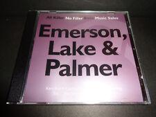 EMERSON, LAKE & PALMER-ALL KILLER-NO FILLER-Collectible Promo CD-Karn Evil 9