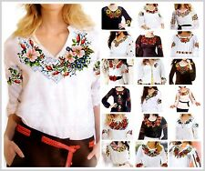 Cross stitch Pattern Women Shirt Vyshyvanka Ukrainian Traditional Embroidery SM