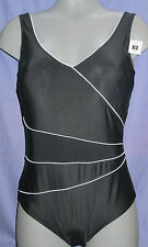 NATURANA LADIES BLACK SWIMSUIT SIZE 12