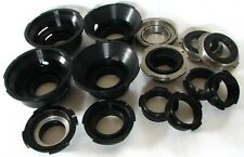Lot of 14 Russian Cine Lens Adapter Mounts, Hard To Find In A Single Lot