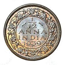 [NC] INDIA - GIORGIO VI - 1/12 QUARTO ANNA 1939 FDC (nc5036)