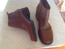 Bass Chelsea Ankle Brown  Boot Booties Leather Womens 11M