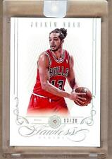 2012-13 FLAWLESS DIAMOND JOAKIM NOAH 13/20!! JERSEY NUMBER