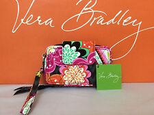 NWT Vera Bradley Ziggy Zinnia Smartphone Wristlet 2.0 Wallet Clutch 13946-163