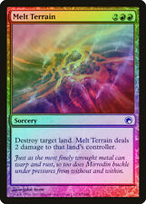 Melt Terrain FOIL Scars of Mirrodin NM Red Common MAGIC MTG CARD ABUGames