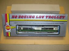 "RARE AHM Boston MBTA ""Green Line"" Boeing LRV Trolley In Double Boxes"