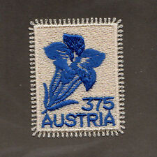 SCOTT # 2175 Austria Embroidered Gentian Flower Self-Adhesive MNH Single Stamp