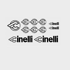 Cinelli Bicycle Decals, Transfers, Stickers - Black - n.09