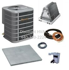 Ducane by Lennox 3.5 ton 13 SEER central A/C unit + coil + Install kit