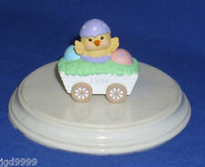 Hallmark Easter Merry Miniature Chick in Wagon 1994 Gold Seal Intact