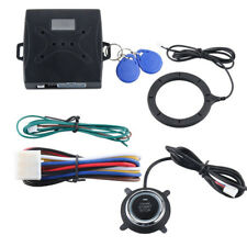 Keyless Entry Car Alarm RFID System W/ Push Button Start Remote Engine Starter #