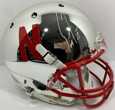 SCOTT FROST SIGNED AUTOGRAPHED NEBRASKA CHROME FULL SIZE FOOTBALL HELMET PSA/DNA