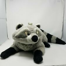 "Vintage 90s Disney Mattel Meeko Racoon 36"" Plush Pocahontas Large Stuffed Animal"