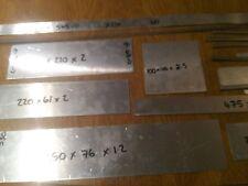 Foglio di alluminio strisce assortiti Taglie 2mm 3mm 5mm
