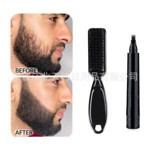 Beard Filling Pen Kit Hair Engraving Styling Eyebrow Filling Make-Up Tool Beauty