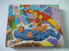 PUZZLE [200 pcs] / Super Héros C5 Iron Man Marvel Comics - MB Puzzle 1978