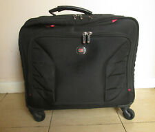 """Wenger 600660 INTERCHANGE 17"""" Deluxe Wheeled Laptop Briefcase Padded"""