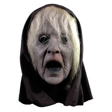 Wraith Witch Grey Hag Old Screaming Woman Adult Full Head Latex Halloween Mask